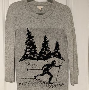 J Crew Skiier Sweater Women's Medium